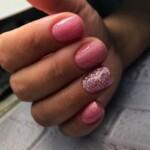 Розовое шампанское и Disco-гель Розовая