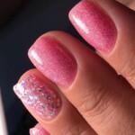 Розовое шампанское и Disco-гель Розовая 2